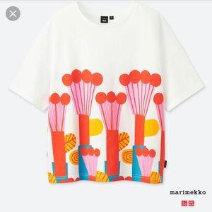 Uniqlo Marimekko Graphic Print Hot Air Balloon Tee